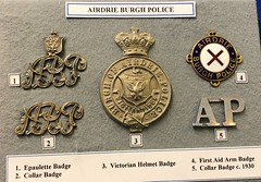 Glasgow Police Museum -  2018 (DanoAberdeen) Tags: badges candid amateur 2018 glasgow danoaberdeen handcuffed handcuffs convict jail guilty medal medals museum award police policeman zcars policemuseum glasgowscotland officer constable woman man authority force crime rescue emergency services bobbies cops 999 policescotland collection badge pin metal history historic scotland vintage olddays memories treasure