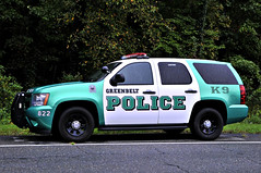K9 Cruiser (Throwingbull) Tags: greenbelt md maryland city town incorporated municipal municipality police department dept law enforcement vehicle cruiser car marked unit canine k9