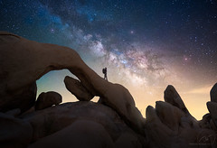 JOSHUA ARC- (Nico Rinaldi) Tags: america usa desert joshuatree arch rock nationalpark staircase escalante milkyway nightscape astrophotography light galaxy sky rocky california rocks golden yellow red orange blue blu white nikon photonikon nikonphoto photoshop profoto superfototdigital flickraward flickr nikonflickraward paesaggio natura fineart art creative majesty mejoresfotos fantastic amazingnaturale geology landscape paesaggiophotooftheday followme flikerlike explore impressive flowing wonder wonderland dreamland outstanding outside primeval primordial viewcolorful shoutout longexposureshots beautiful capturelandscapes thunderclouds lightning workshops nicorinaldi nickrinaldi nicorinaldinet