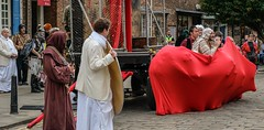 YMPST waggon play performance, College Green, 16 September 2018 - 06 (nican45) Tags: yorkmysteryplays2018 16september2018 16092018 18135 18135mm 2018 csc collegegreen fuji fujifilm mysteryplays nickansell september stwilliamscollege supporterstrust theharrowingofhell xt2 xf18135mmf3556rlmoiswr ymp ympst york yorkshire cast costumes mirrorless performance photographer photography waggon waggonplay wagon