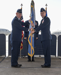 Nelson assumes command of Travis (Official Travis AFB, Calif.) Tags: travisafb ca usa col jeff nelson assumption command