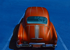 No Club (oybay©) Tags: glendale arizona carshow brown classic pontiac car hdr classiccar chrome chieftain silverstreak straight8 americancar outdoor