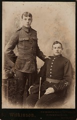 Gloucestershire Regiment & Royal Artillery Soldiers - 18IK (thardy1) Tags: britisharmy britishsoldier royalartillery gloucestershireregiment military uniform