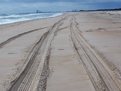 Miles to Nowhere (karsheg) Tags: beach sand emptybeach ocean shoreline newjersey nature outdoors longbeachisland holgate