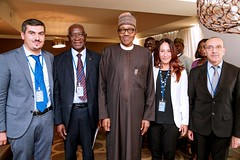 resident Buhari receives in audience Italian Senators in New York on 27th Sep 2018 Inbox x