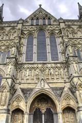 Facade (Tony Shertila) Tags: architecture britain cathedral church clouds cloudy day england europe gbr geo:lat=5106485002 geo:lon=179703176 geotagged gothic religion salisbury unitedkingdom weather wiltshire 20160808162756englandsalisburycathedralpm1