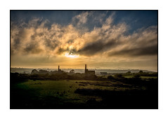 South Wheal Francis (Peter Dewhurst) Tags: landscape cornwall kernow enginehouse mine tin whs greatflatlode clouds sunset m240 leica 35mm summicron digital