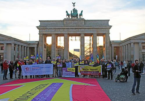 Protestaktion der Kampagne