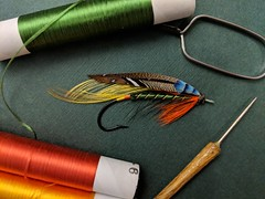 Erin-go-bragh (afeicht1) Tags: atlantic salmon fly hand tied traditional classic blind eye hook