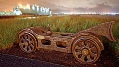 Port Covington - Baltimore, MD (oscarpetefan) Tags: oscarpetefan baltimore maryland d600 nikon zeiss carlzeissdistagont25mmf28zf2 landscape dxo11 on1pics on1photoraw night nightlights rust abandoned harbor ryestreettavern