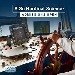 Best BSc Nautical Science College in Chennai, Tamilnadu - SAMS (SheelaBaskaran) Tags: bsc nautical science marine engineering college chennai admission institute academy maritime training tamilnadu studies navy merchant sea shipping courses