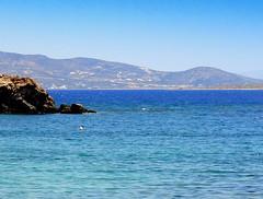 Aegean Sea, view from Antiparos (dimaruss34) Tags: newyork brooklyn dmitriyfomenko image sky greece antiparos sea water horizon cliff paros