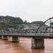 Lanzhou - bridge over Yellow River to White Pagoda