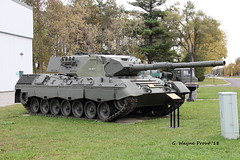German Leopard 1A3 Main Battle Tank (Gerald (Wayne) Prout) Tags: germanleopard1a3mainbattletank german leopard 1a3 main battle tank canadianforcesbaseborden cfbborden simcoecounty ontario canada prout geraldwayneprout canon canoneos60d eos 60d digital dslr camera canonlensefs18135mmf3556is lens efs18135mmf3556is photographed photography vehicle military mainbattletank machine machinery equipment canadianforces base borden canadian forces dnd departmentnationaldefense governmentofcanada simcoe county