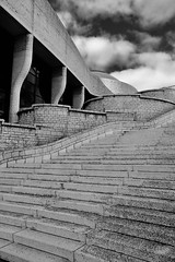 Symbolic form and function (joanneclifford) Tags: nature curves stairs dome xf1855 fujifilmxt20 artifact function form symbolism museum ottawa quebec gatineau museumofhistory museumofcivilization bw monochrome architecture architect douglascardinal