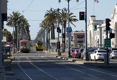 Streetcars on The Embarcadero (imartin92) Tags: sanfrancisco municipal railway california muni streetcar tram railroad transit