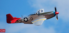 P51D Mustang #1 - East Fortune 2018 (Chazzum) Tags: airshow airbus airplane aircraft east fortune eastfortune scotland national red arrows british german american wwii photography cold war mustang typhoon bronco texan mig15 museum