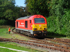 67028 Bodmin Parkway (18) (Marky7890) Tags: 67028 class67 dbcargo diesellocomotive bodminwenfordrailway bodmin bodminparkway cornwall train