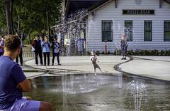 Someone got there before kids (Tony Tomlin) Tags: whiterockbc britishcolumbia canada whiterockstation waterpark