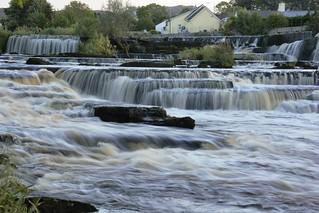 Falls at Ballysadare, Sligo.