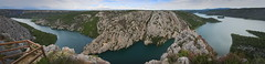 a wider view (koaxial) Tags: p6291653ap6291657aa croatia 2018 koaxial hugin stitch panorama view krka nature national reserve park landscape landschaft water lake mountains berge