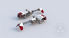 Stass Alllie's Speeder (Mr_Idler) Tags: lego starwars stassallie speeder