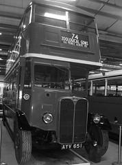 London transport STL469 Acton Depot 22/09/18. (Ledlon89) Tags: london bus buses londonbus londonbuses londontransport lt lte lptb vintagebuses oldlondon transport leyland aec ltmuseum actondepot ltm