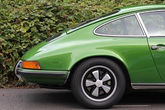 Green Machine (No Great Hurry) Tags: greenmachine coupe sportscoupe sportscar details detail metallic porsche road tyre tire green greencar alloy nogreathurry robinmauricebarr car auto classic classiccar porsche911 wheel voitureancienne