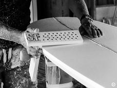 (LV diaphragm) Tags: fujifilm france x30 surf paipo charentemaritime la rochelle noir blanc white black monochrome shape shaper handmade board surfboard bodyboard