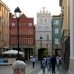 Toruń - ulica Różaną i Łuk Cezara thumbnail
