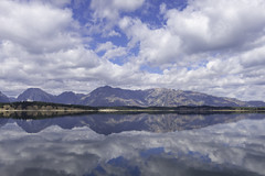 _DSC2943-1 (Andrew Feldhaus) Tags: grandtetons reflection mountains water clouds