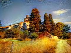 Monastir del Camp (fotomie2009) Tags: monastir del camp chiesa fence monestir monastery monastero france francia textured texture ddg catalogna catalunya catalogne landscape paesaggio roussillon rossiglione