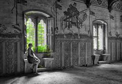 Castello Almost Charming (Hélène Lili) Tags: urbex urban exploration urbaine italy europe decay castle charming colors light bw black white explore explorer canon 100d teamlili architecture painting fresco