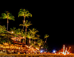 Koh Samui (Rickard Brandt) Tags: fire show palm koh samui thailand fun
