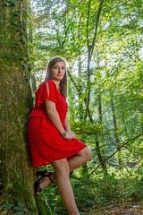 IMG_9339 (fab spotter) Tags: younggirl portrait forest levitation brenizer extérieur lumièrenaturelle