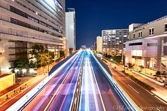 阪神高速東大阪線 (hirobonn) Tags: highway osaka japan nightphotography nikon d610