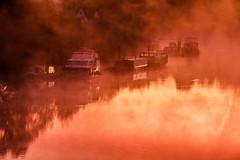 River Trent - Gunthorpe (Squady) Tags: autumnweather squadypix rivertrent sunrise nottingham uk