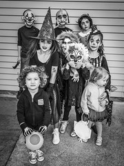 Halloween (michaels.jeff) Tags: halloween scary creepy freeky crazy kids children chilphotography childportrait newzealand nz nzphotography photographynz portrait picoftheday costume sony sonynz auckland a7r3 a7r bw blackandwhite