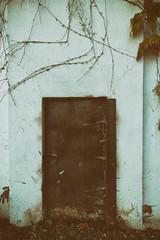 the door (annapolis_rose) Tags: door lockeddoor campus ubc powerhouse vancouver