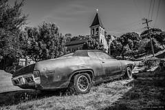 Plymouth, Road Runner (Audrius Zukas) Tags: car plymouth blackandwhite bw monochrome