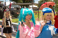 XOKA9715s (Phuketian.S) Tags: cosplay girl beauty pretty woman anime cute nice smile beautiful costume blonde phuket thailand phuketian people portrait face eye uniform young babe saphanhin show