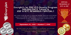 Published: Encrybit's 1st Unique & Short Time Bounty [500,000 ENCX Tokens + XRP & BTC Special Rewards] (jakedavis224) Tags: medium encrybit's 1st unique short time bounty 500 000 encx tokens xrp btc special rewards article