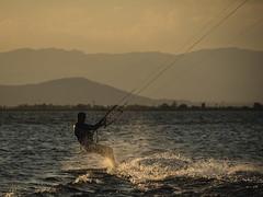 Delta del Ebro (Andrés Gallego) Tags: nikon d750 tarragona delta del ebro deltadelebro sunset paddlesurf nature light atardecer tamron 70200
