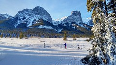 Change of seasons (altamons) Tags: altamons xcountry winterland winter snow ski rockies canadian kcountry kananaskis canada alberta canmore rundle banff mountain mountainside forest landscape kananaskiscountry canadianrockies nordiccentre canmorenordiccentre mountrundle banffnationalpark is