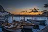 Bagliori del tramonto (Nunzio Pascale) Tags: sunset justaftersunset boats barche motorefuoribordo tramonto ottobre2018 cieliischitani nikon d90nikon nikkor18200 santangelo santangelosunset porticciolo