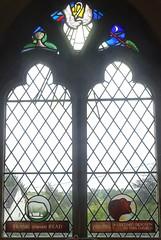 [66840] Hemingby : West Window (Budby) Tags: hemingby lincolnshire church window stainedglass
