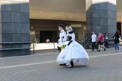 what a strange couple (mgheiss) Tags: seltsamespaar strangecouple canon g1xii frankfurtammain menschen people street