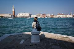 Venezia, 2018 (Antonio_Trogu) Tags: streetphotography lonely ricoh italia sea unposed urban antoniotrogu woman 2018 antonio trogu venice venezia ricohgrii street photography italy ricohgr candid