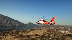 Aerial View   GTAV (Razed-) Tags: aerial view mh65c dolphin helicopter blaine county countryside desert grand theft auto v gtav rockstar games naturalvision remastered graphics mod
