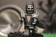 Glam Rock Batman (N.the.Kudzu) Tags: tabletop toy lego miniature batman canondslr lensbabytwist60 lightroom